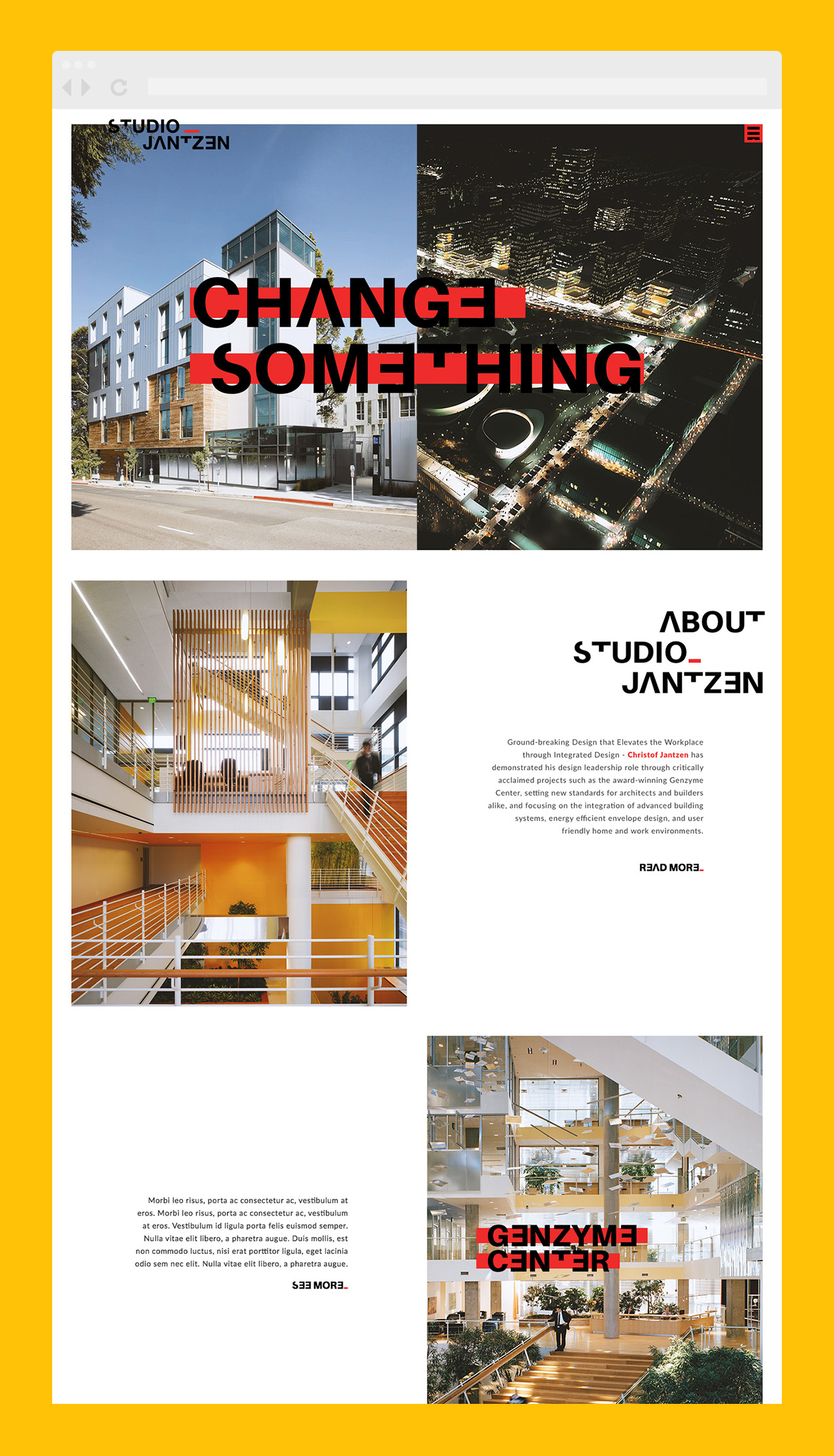 studio jantzen architecture new media agency california